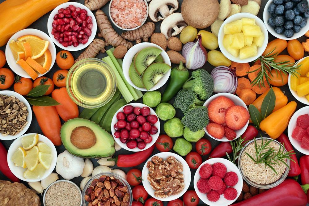 les aliments pour la naturothérapie